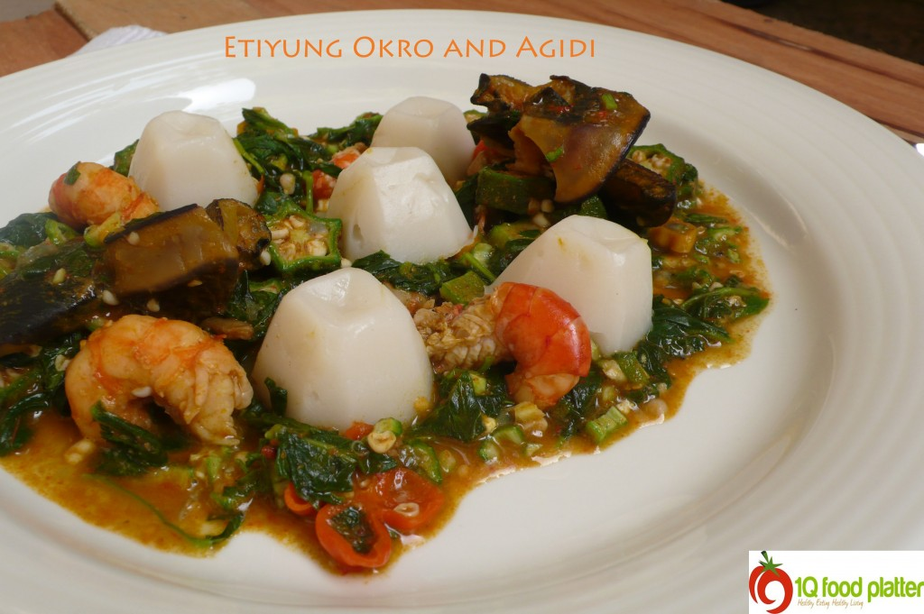 Etiyung Okro Soup with Agidi | Top Nigerian Food Blog