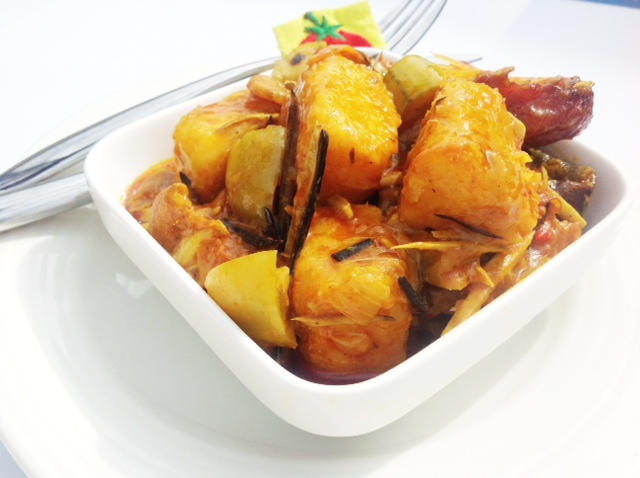 Yam porridge Recipe - nigerian recipe - Food Blog |Yam Porridge Recipe