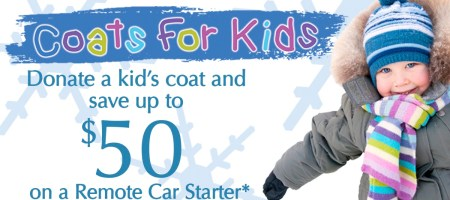 Coats for Kids Program Offered to 1sixty8 media Clients