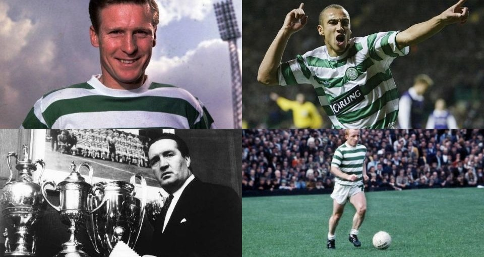 greatest heroes of Celtic Football Club