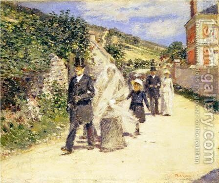 The Wedding March Painting By Theodore Robinson Reproduction 1st Art Gallery - Wedding March, The Wedding March Everything You Need To Know