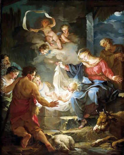 Image result for nativity famous paintings