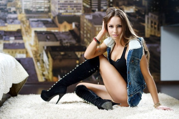 Single Hot Sexy Russian Woman Nadezhda From Lugansk -8763