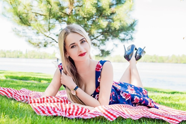 attractive Ukrainian woman from city Dnepr Ukraine