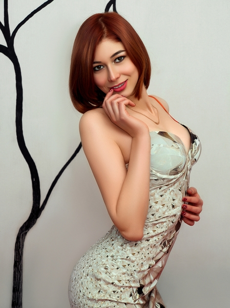 compelling Ukrainian lady from city Lugansk Ukraine