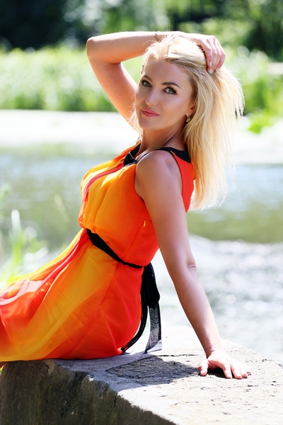 enchanting Ukrainian bride from city Khmelnitsky Ukraine