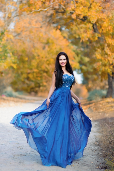 genteel Ukrainian fiancée from city Kiev Ukraine