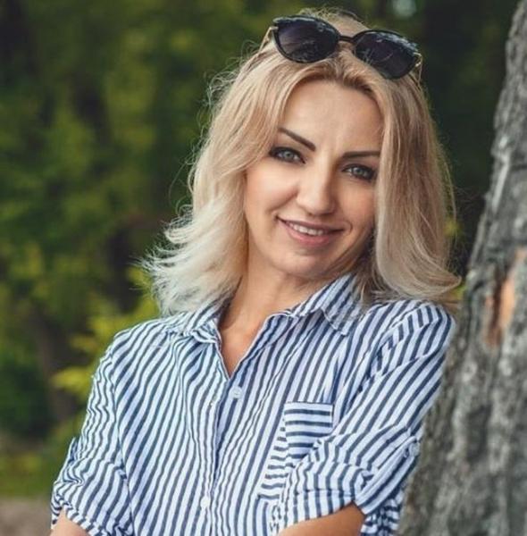 happy Ukrainian femininity from city Kiev Ukraine