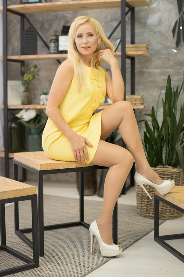 optimistic Ukrainian girl from city Dnepr Ukraine
