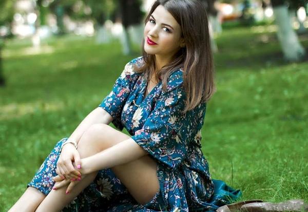 smart Ukrainian fiancée from city Kiev Ukraine