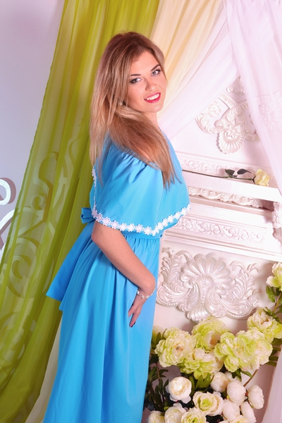 smiling Ukrainian womankind from city Kharkov Ukraine