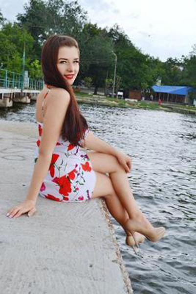 full of life Nastya Ukrainian lady from city  Nikolaev Ukraine