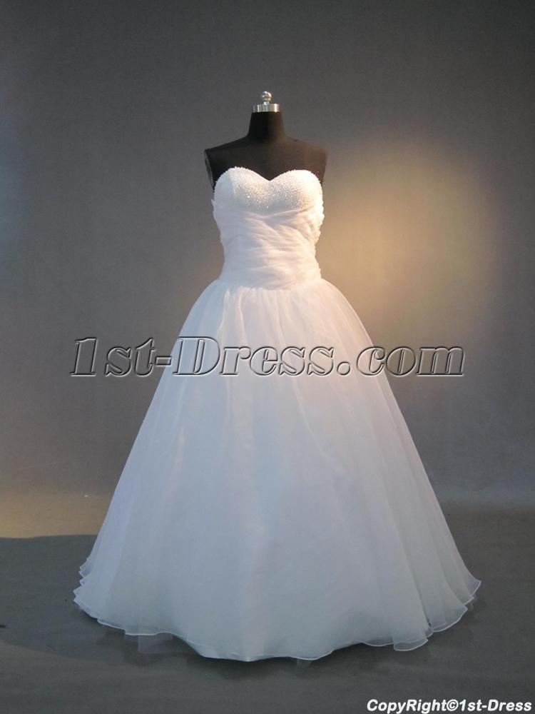 Pure Sweetherat Masquerade Ball Gown With Train IMG3970