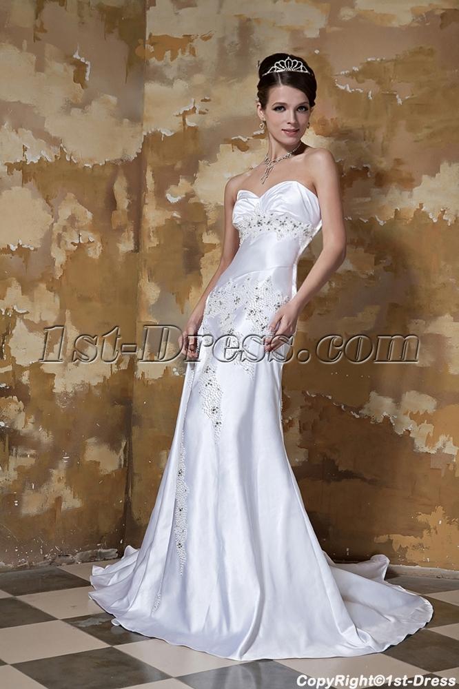 Sweetheart Long Beach Wedding Dresses Tumblr GG10951st