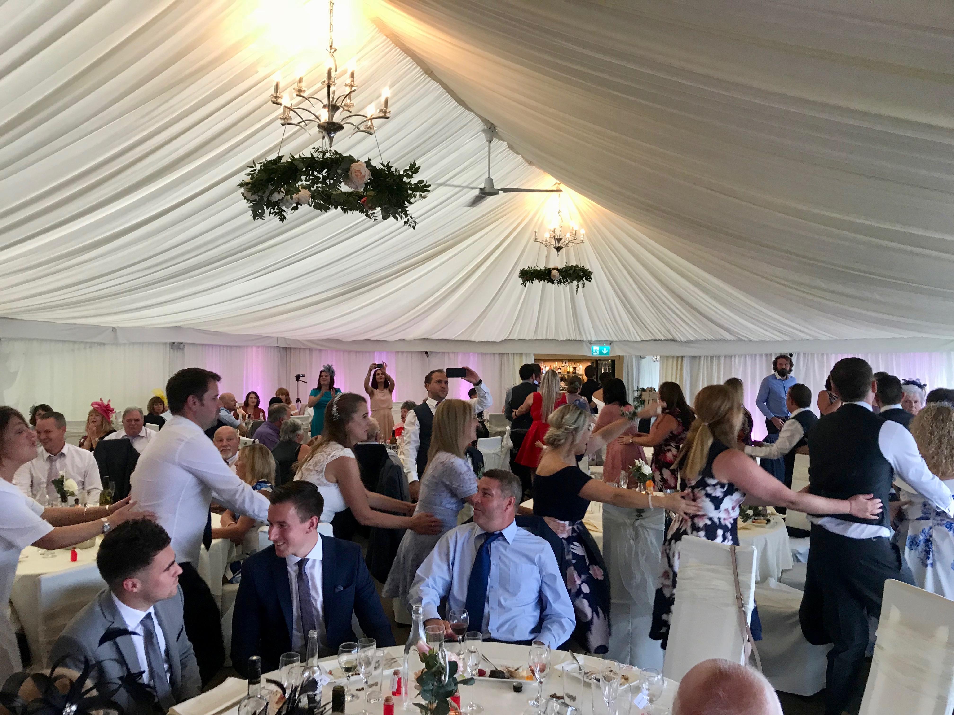 Singing Waiters Swansea