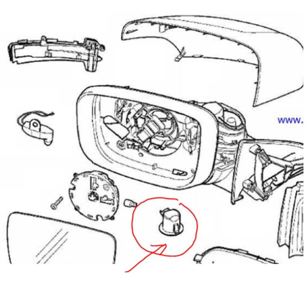 Find Used Volvo Xc60 Wing Mirrors And Door Mirror Parts