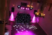 An example of one of our wedding discos at Dodmoor House