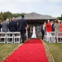 Kettering Park Hotel Outdoor Wedding Ceremony