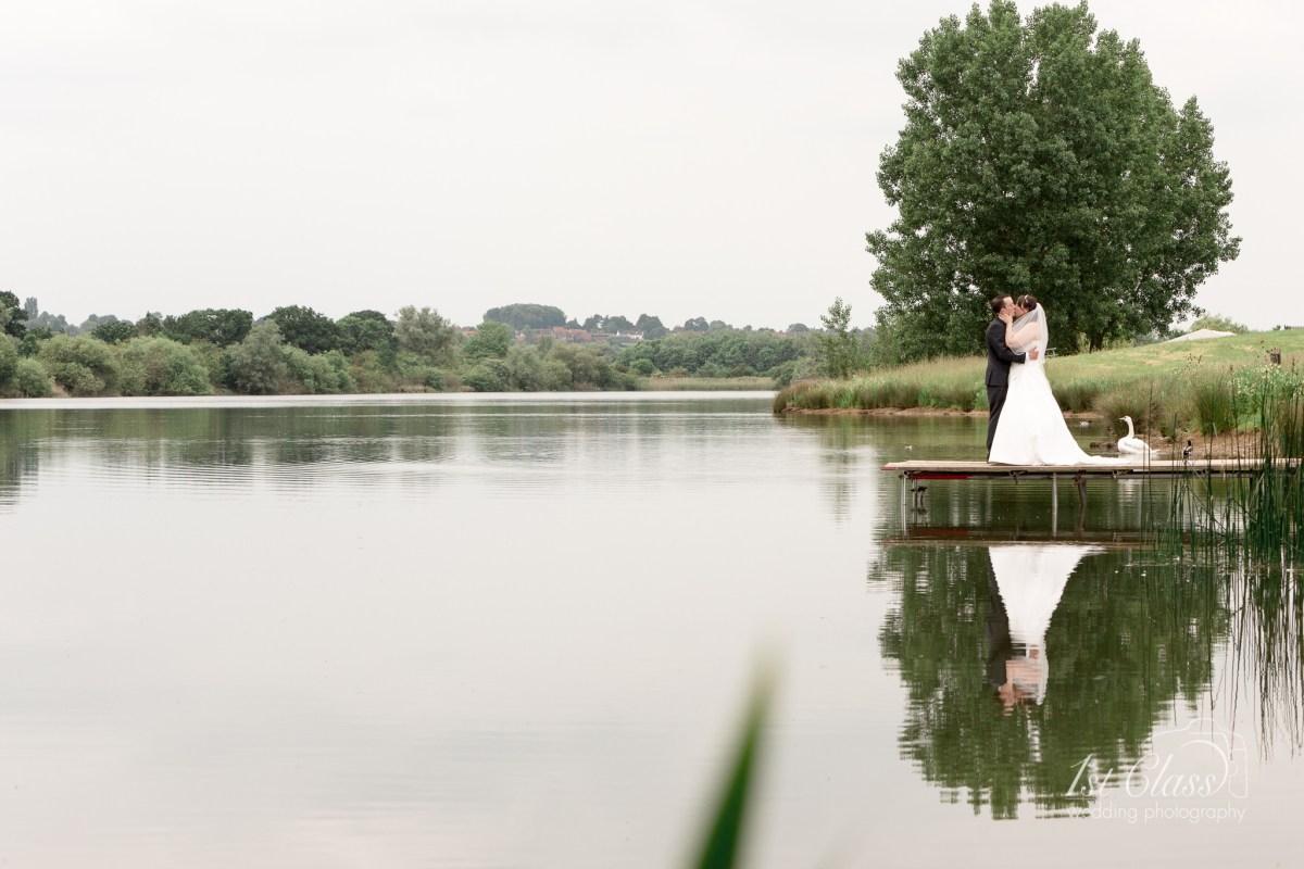 Grendon Lakes Northamptonshire Wedding Photographer