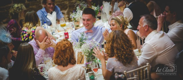 the barns at hunsbury Northampton wedding photographer