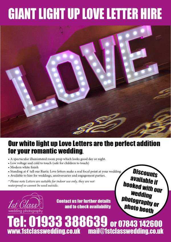 Love letter hire