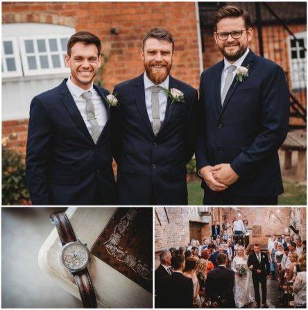 donnington park farmhouse wedding photographer