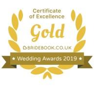 Bridebook Certificate of Excellence