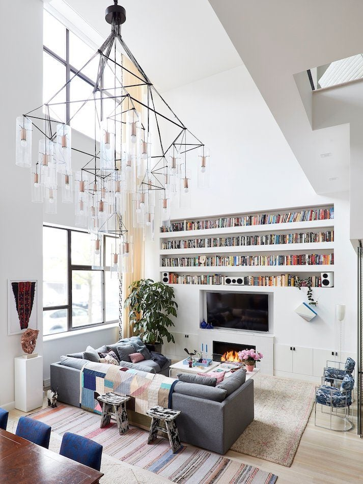 Step Inside 22 Interior Designers  Extraordinary Homes   The Study living room by JDK Interiors