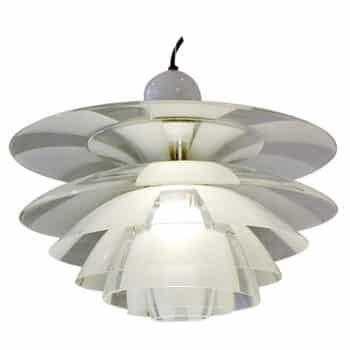 mid century wood lamp