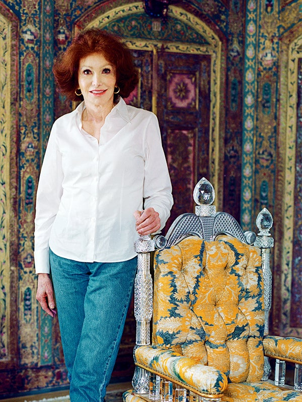 Ann Getty Believes Rooms Should Be Witty Not Fussy