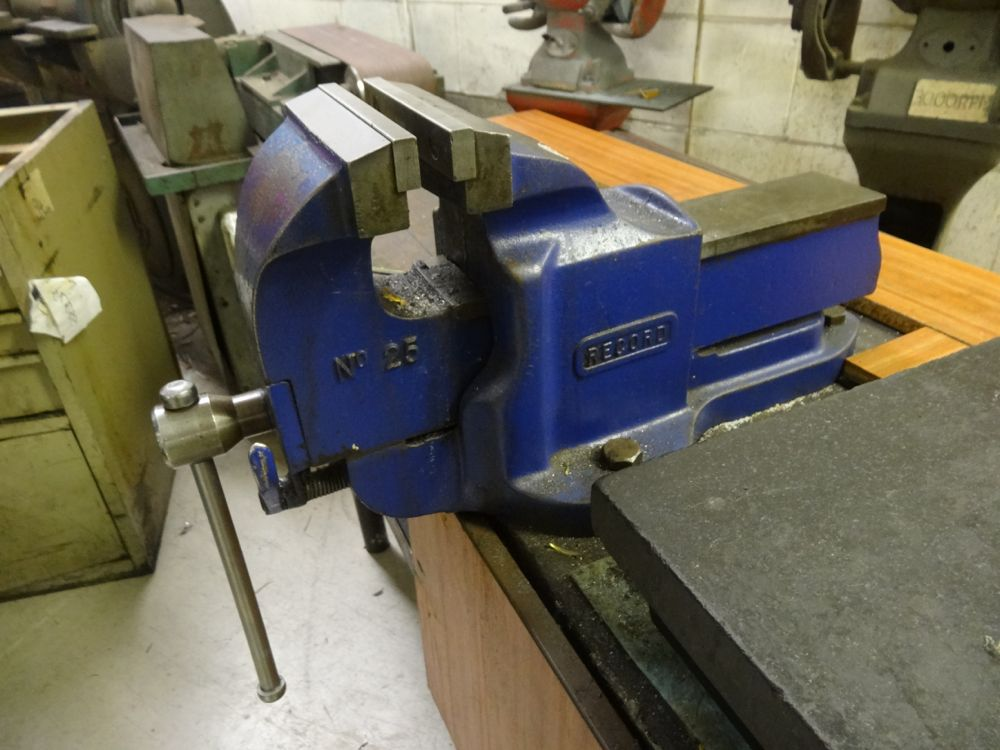 Record No 25 Quick Release Bench Vice 1st Machinery
