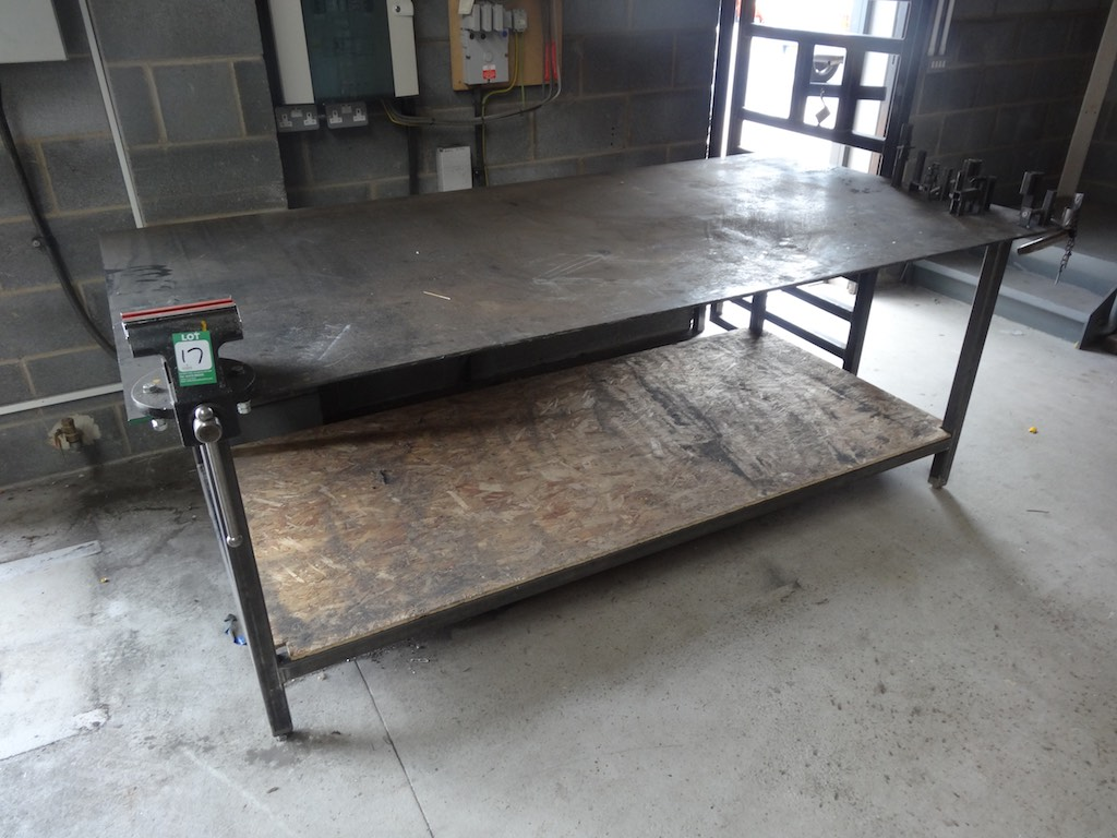 Welders Fabrication Bench With 6 Quot Senator Bench Vice 1st