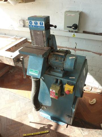 Vertical Linisher 1st Machinery