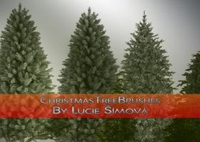 ChristmasTreeBrushes