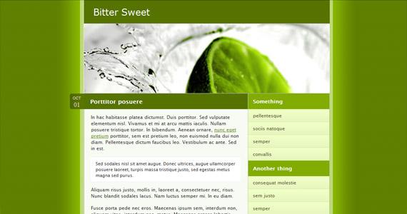 bitter-sweet-xhtml-css-template