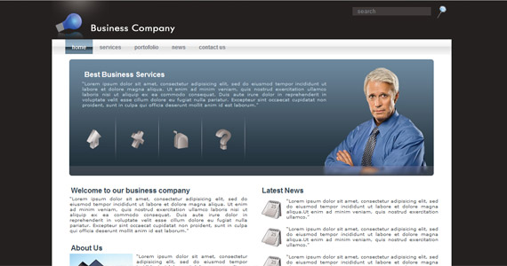 business-company-xhtml-css-template