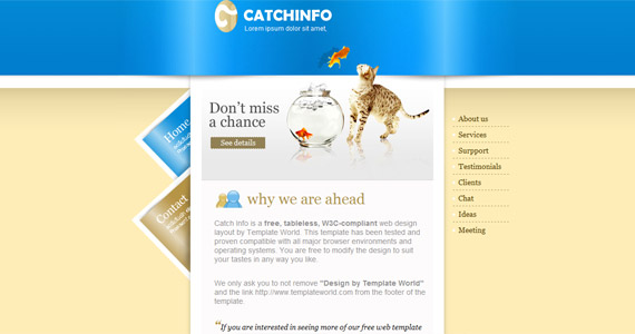 catchinfo-css-xhtml-template