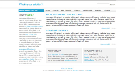 what-solution-xhtml-css-template