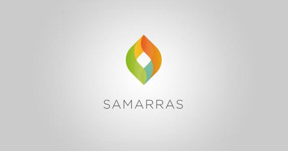 samarras-creative-gradient-3d-logo-design