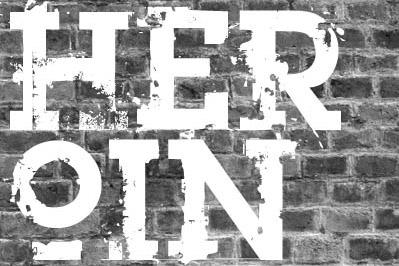 heroin-07-free-grunge-fonts
