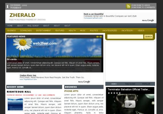zherald-free-premium-wordpress-theme