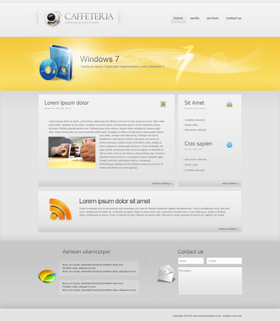Caffeteria-web-design-interface-inspiration-deviantart