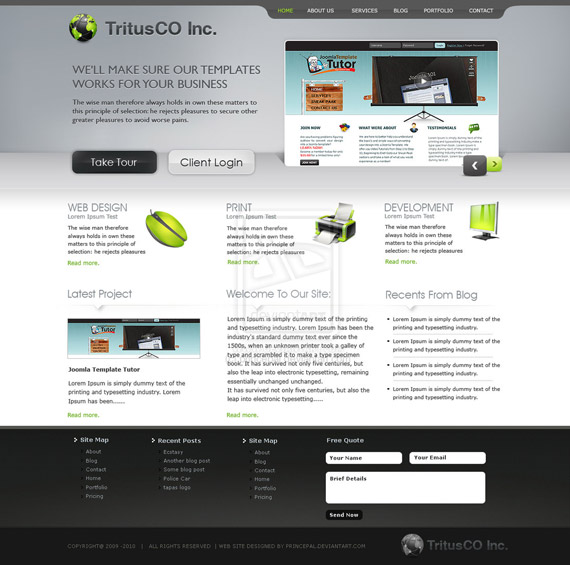 Tritus-co-web-design-interface-inspiration-deviantart