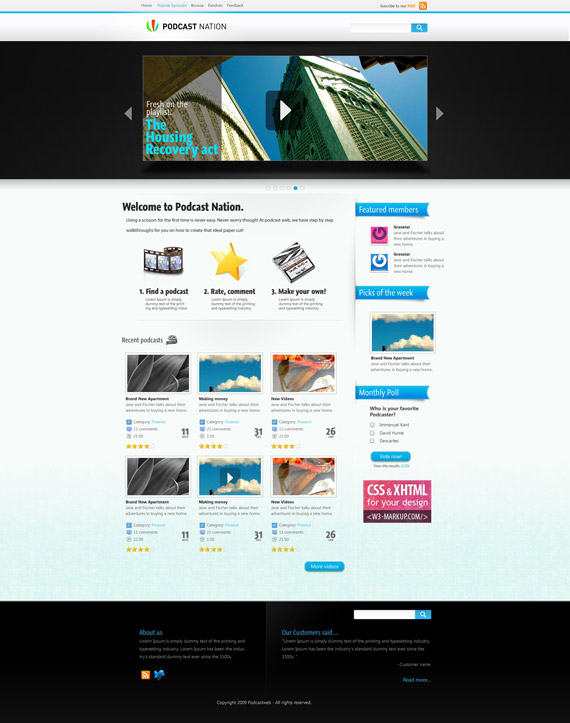 Vid-web-design-interface-inspiration-deviantart