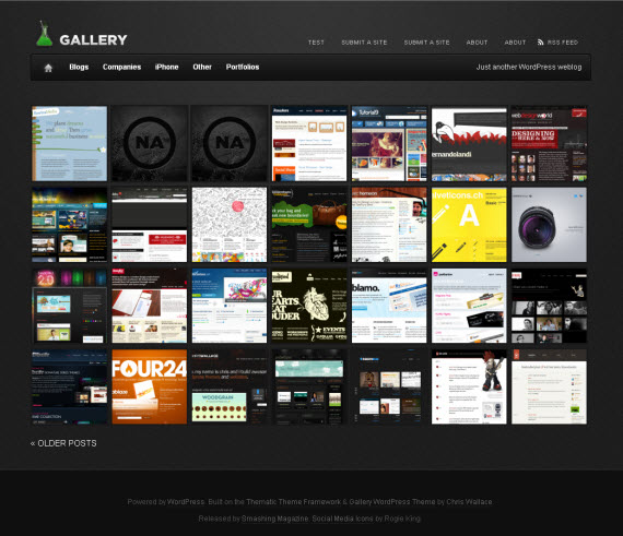 Css-gallery-free-portfolio-wordpress-themes