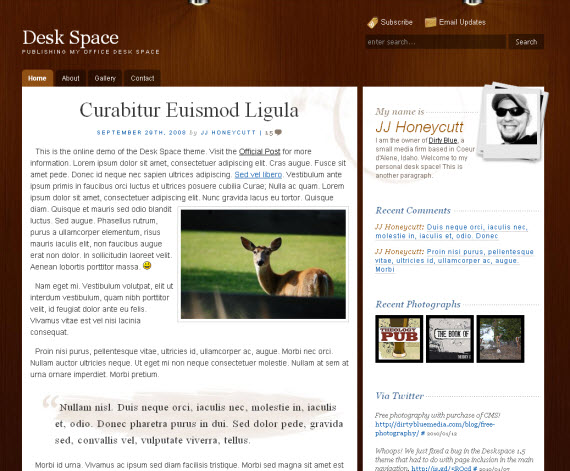 Deskspace-free-portfolio-wordpress-themes