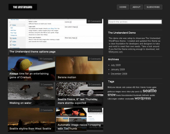 Unstandard-free-portfolio-wordpress-themes