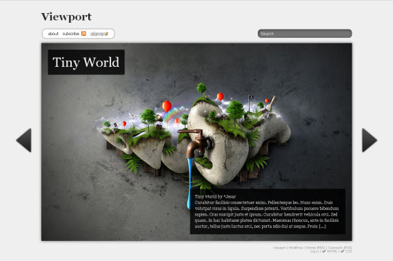 Viewport-free-portfolio-wordpress-themes