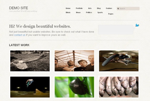 Workaholic-free-portfolio-wordpress-themes