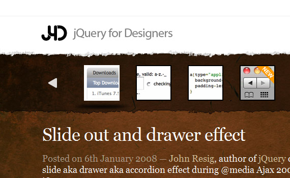Slide-drawer-jquery-accordion-menus-resources-tutorials-examples